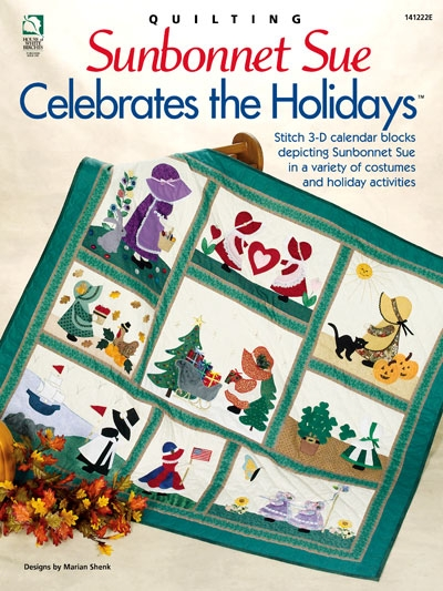 sunbonnet sue celebrates the holidays Interesting Sunbonnet Sue Quilt Pattern Book Gallery