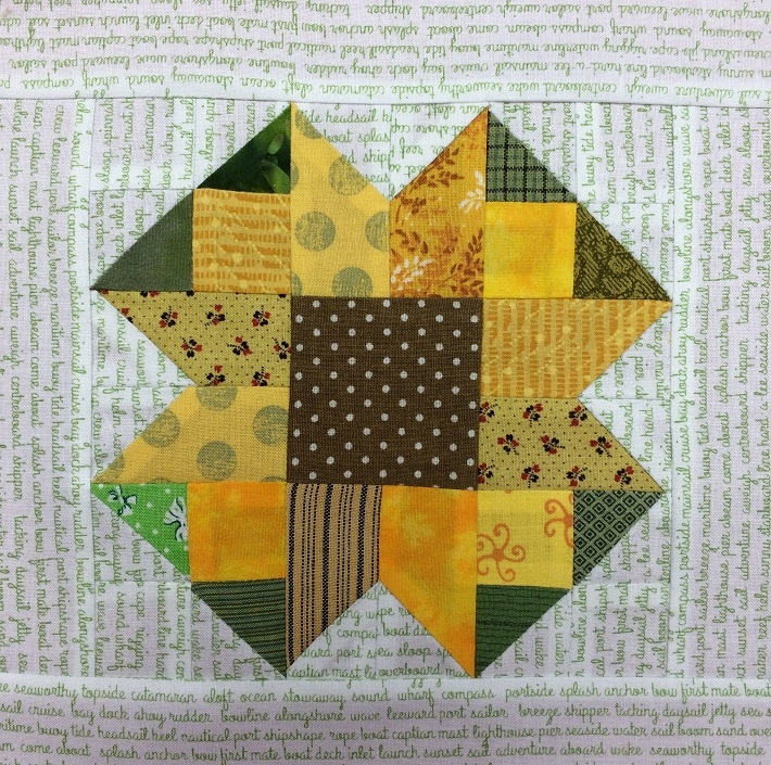 sunflower quilt block pattern free on bluprint Cozy Sunflower Quilt Patterns Free