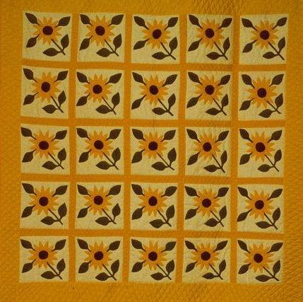 sunflower quilt free quilt patterns Unique Sunflower Quilt Patterns Inspirations