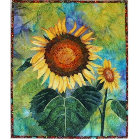 sunflowers quilt pattern the national quilt museum Unique Sunflower Quilt Patterns Inspirations