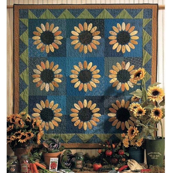 sunflowers quilt pattern Unique Sunflower Quilt Patterns Inspirations
