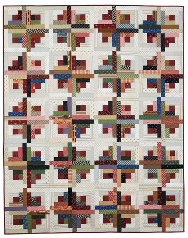 sunshine shadows log cabin quilt pattern download Modern Quilt Patterns Log Cabin Inspirations