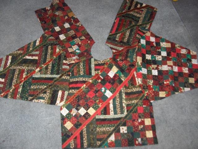 sunshower quilts constructing a sweatshirt jacket Interesting Quilted Sweatshirt Jacket Pattern Inspirations