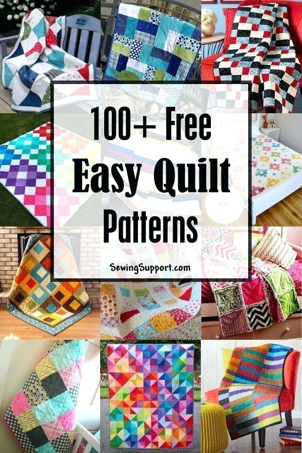 superb free and easy quilt patterns okoklife Stylish Easy King Size Quilt Patterns Gallery