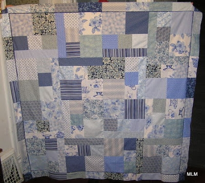 sweet leaf notebook wicked easy picnic quilt top in blue Wicked Easy Quilt Pattern Inspirations