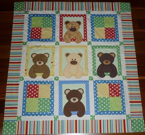 teddy bear quilts quilting gallery Elegant Teddy Bear Quilt Patterns Gallery