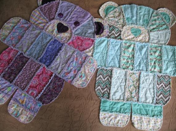 teddy bear rag quilt Cozy Teddy Bear Rag Quilt Pattern Gallery