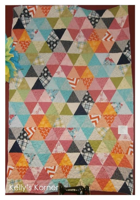 terrific traditions equilateral triangle quilts Interesting Triangle Quilts Patterns Inspirations