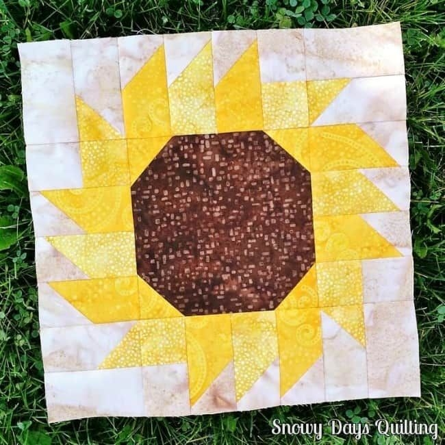 the 11 best diy sunflower crafts quilting sunflower Cozy Sunflower Quilt Patterns Free