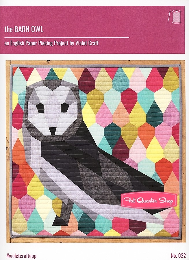 the barn owl quilt pattern violet craft vc 022 fat Unique Arts And Crafts Quilt Patterns Inspirations