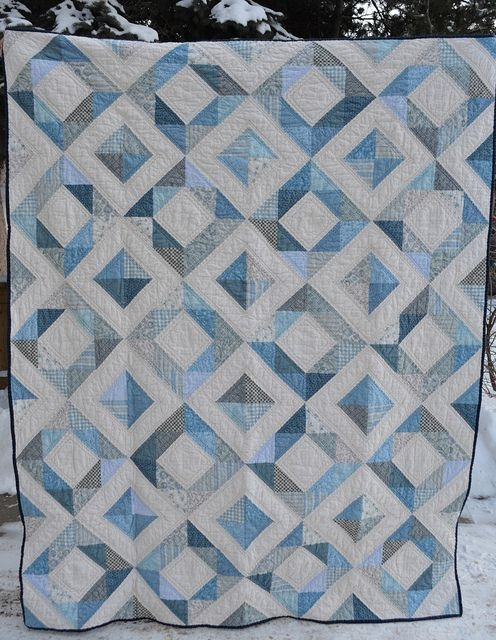 the blue quilt quilting blue quilts jellyroll quilts Unique Blue And White Quilt Patterns Gallery