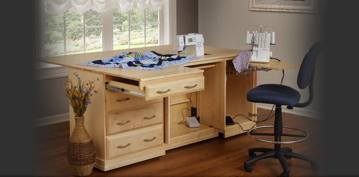 the gristmill collection buy your real wood sewing center Stylish Quilting Sewing Table Gallery
