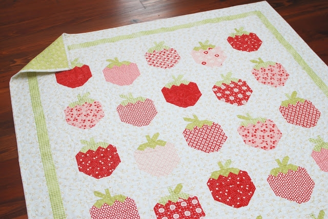 the pattern basket strawberry social Elegant Strawberry Quilt Pattern Inspirations