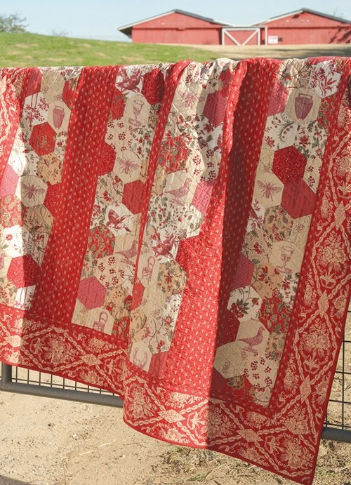 the warp and the weft french general quilts Cozy French General Quilt Patterns Inspirations