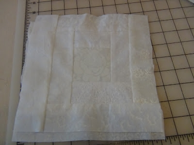 the white on white log cabin quilt block seams and scissors Cozy All White Quilt Patterns Inspirations