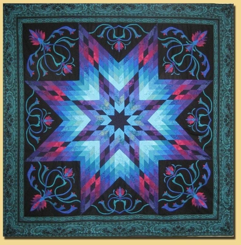 this beautiful quilt was a free pattern designed jinny Cozy Jinny Beyer Quilt Patterns