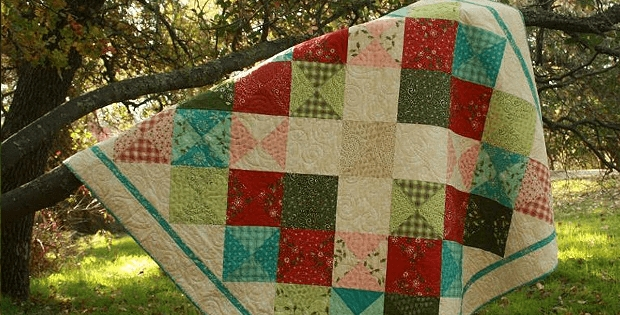 this modern quilt is full of old fashioned charm quilting Elegant Quilt Designs Old Fashioned Gallery