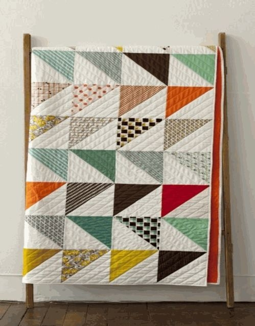 this particular impression in this corner denyse schmidt Stylish Vintage Modern Quilt Patterns Inspirations