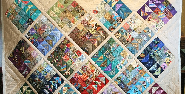 this stunning quilt is far easier than it looks quilting Cool Migrating Geese Quilt Pattern