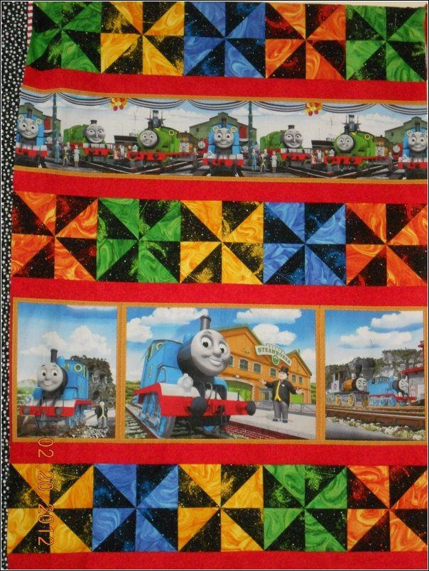 thomas the train quilt kit quilts boy quilts jellyroll Cozy Thomas The Train Quilt Patterns Gallery