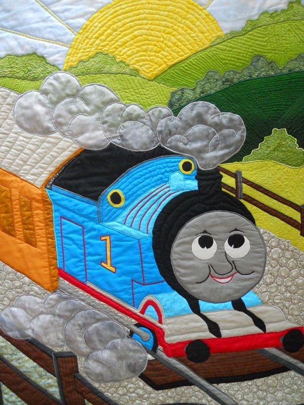 thomas the train quilt pattern thread thomas the train Cozy Thomas The Train Quilt Patterns Gallery
