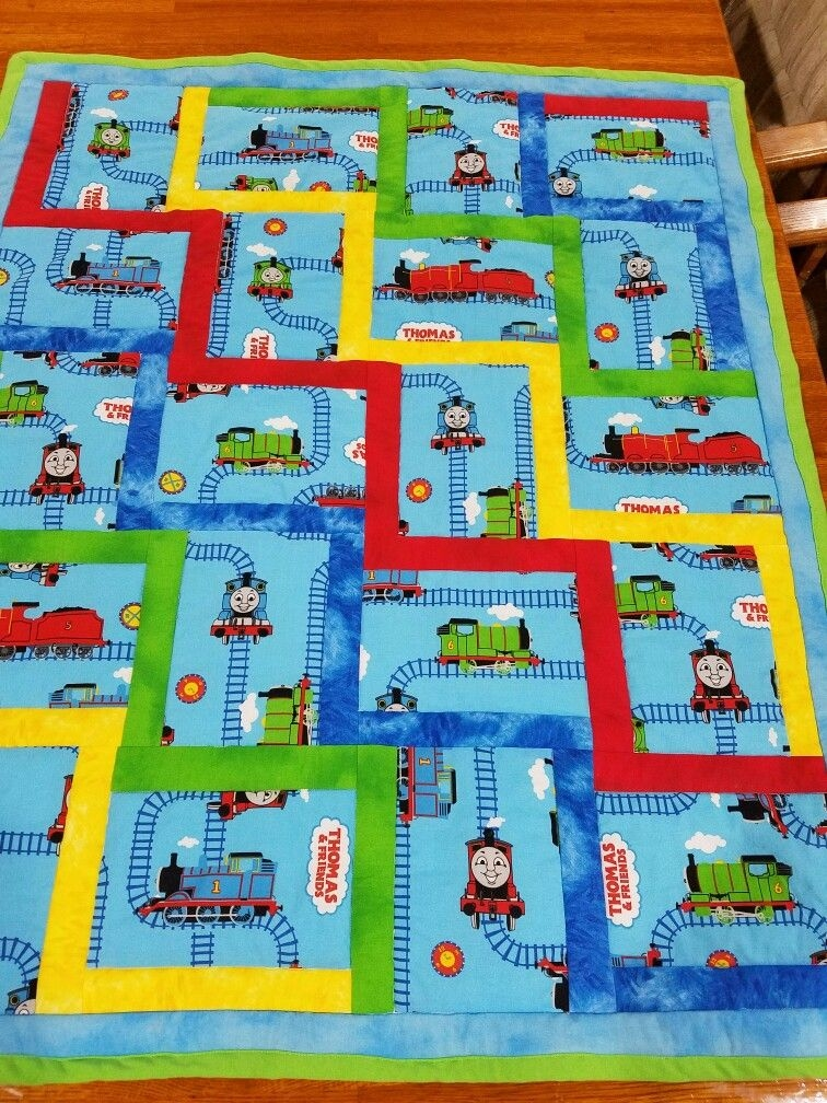 thomas the train quilt sewing quilt patterns rag quilt Cozy Thomas The Train Quilt Patterns Gallery