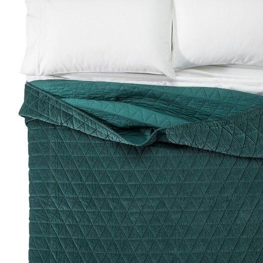 threshold vintage wash velvet quilt velvet quilt faux fur Stylish Threshold Vintage Washed Quilt Inspirations