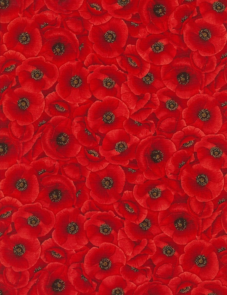 timeless treasures tossed tuscan poppies red quilt fabric style c5835 Cozy New Poppy Quilt Fabric