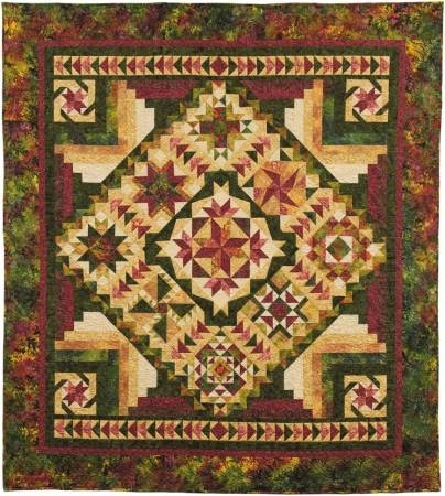 tonga nature block of the month quilt pattern bom Cool Block Of The Month Quilt Patterns
