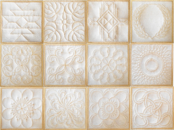 trapunto quilt collection machine embroidery designs Cool Quilt Embroidery Patterns