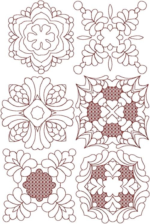 trapunto quilting block set Trapunto Quilting Patterns Inspirations