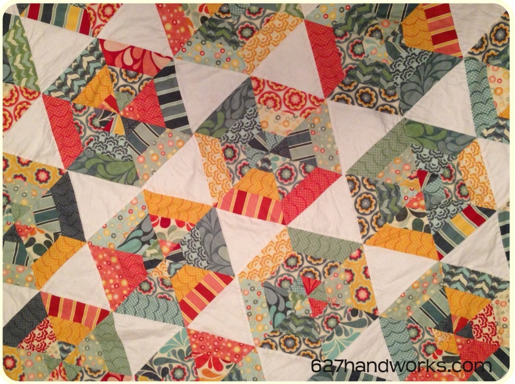 triangle quilt along soft quilts Unique 60 Degree Triangle Quilt Tutorial