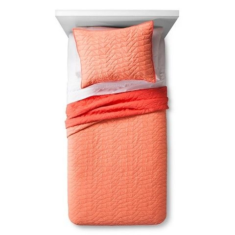 triangle stitch quilt and sham set pillowfort j m Modern Triangle Stitch Quilt And Sham Set Pillowfort Inspirations