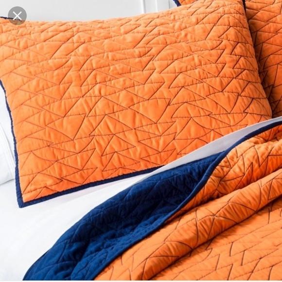 triangle stitch quilt and sham set pillowfort Modern Triangle Stitch Quilt And Sham Set Pillowfort Inspirations