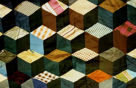 tumbling block quilt pattern free quilt patterns Modern Tumbling Blocks Quilt Pattern Gallery