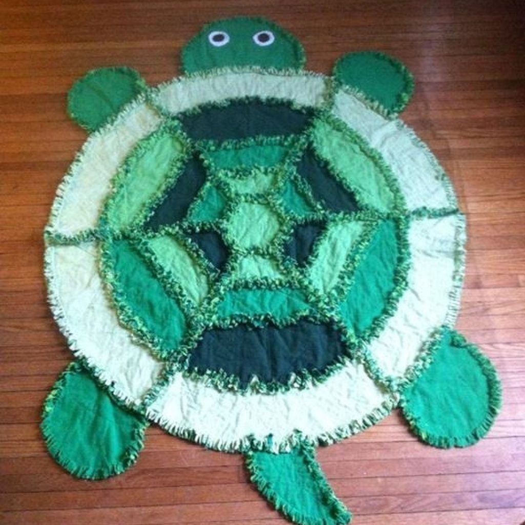 turtle rag quilt made from simplicity pattern 2493 quilts Interesting Turtle Rag Quilt Pattern Inspirations