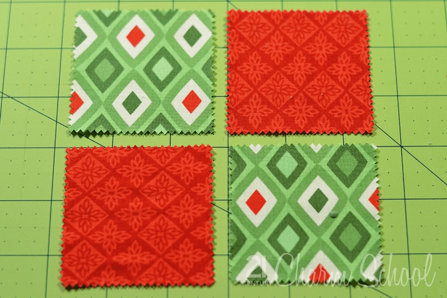 tutorial how to make a perfect four patch quilt block Cool 4 Patch Quilt Block Patterns