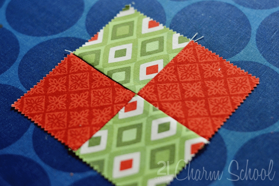 tutorial how to make a perfect four patch quilt block Easy Four Patch Quilt Pattern