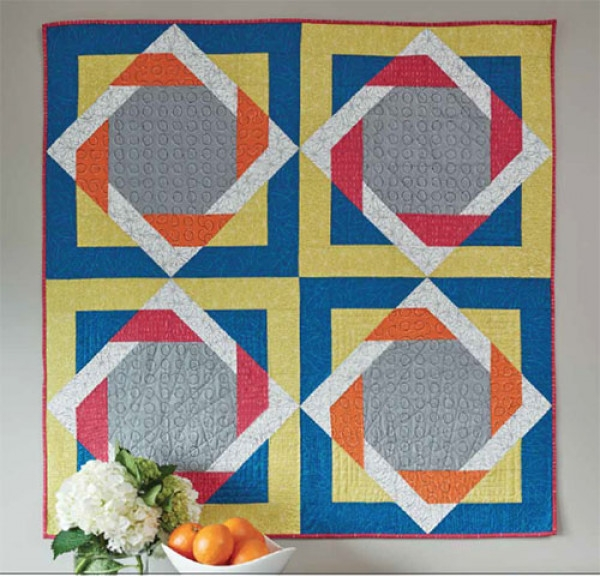 twisted squares quilt pattern download Stylish Quilt Patterns With Squares