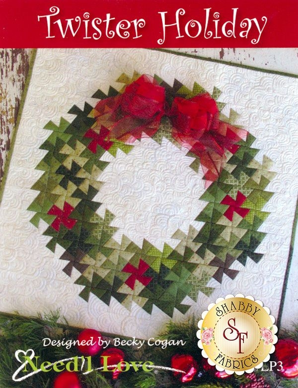 twister holiday pattern twister quilts holiday quilt Interesting Twister Quilt Pattern Wreath Gallery