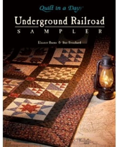 underground railroad sampler 735272010685 quilt in a day books Modern Quilt Patterns Underground Railroad