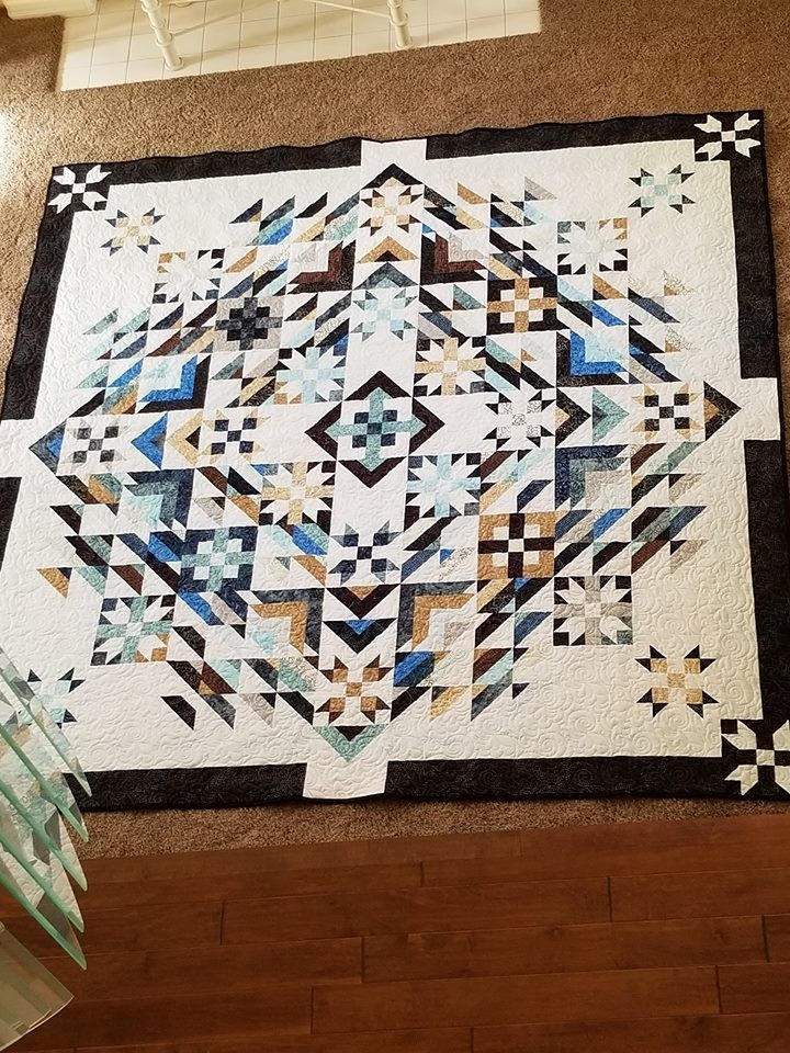 very pretty i wish it told the name of the pattern Interesting Amish Quilt Patterns With Names