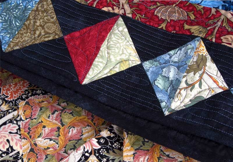 victoria alberts william morris modafabrics Cool William Morris Quilt Patterns Inspirations