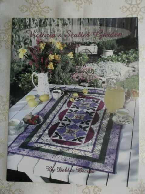 victorias scatter garden debbie beaves quilt pattern book cathedral windows Cool Debbie Beaves Quilt Patterns Inspirations