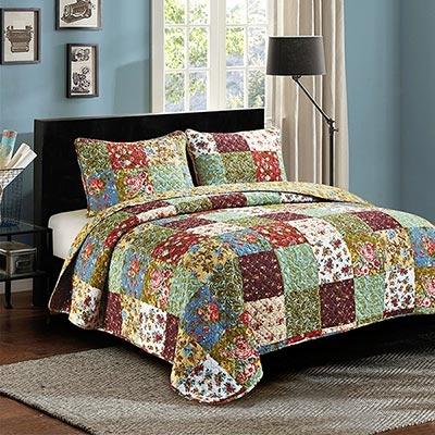 vintage garden king size quilt set olivias heartland Vintage King Size Quilts Inspirations