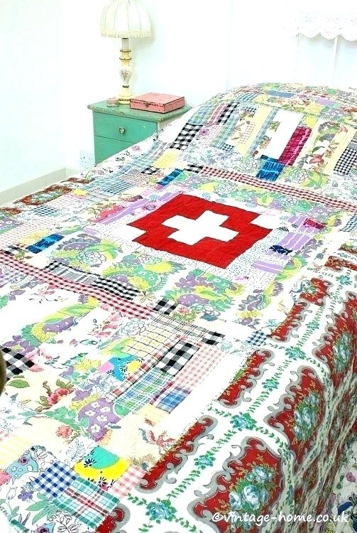 vintage looking quilts style quilt covers look colorful Vintage Look Quilts