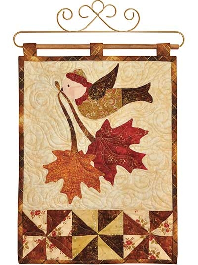 vintage november wall hanging pattern Seasonal Quilted Wall Hanging Patterns