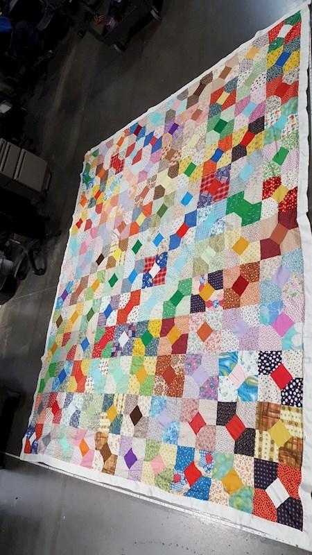 vintage patchwork quilt 105 90 Elegant Vintage Patchwork Quilts