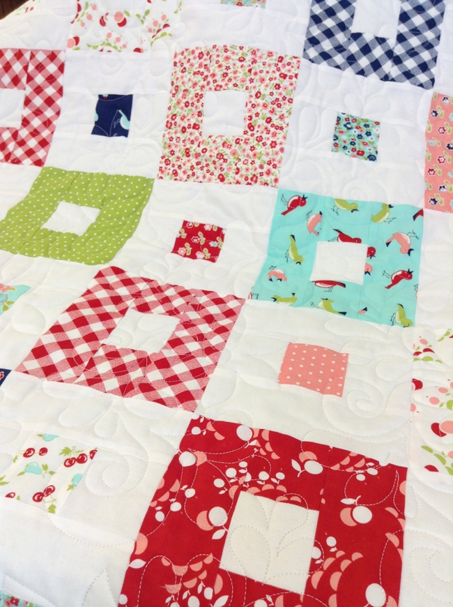 vintage picnic quilt hamels thread Modern Vintage Picnic Quilt Gallery