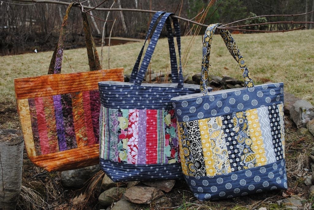 weekend warriors 7 quilted bag patterns patchwork handbag Stylish Quilted Handbags Patterns Inspirations